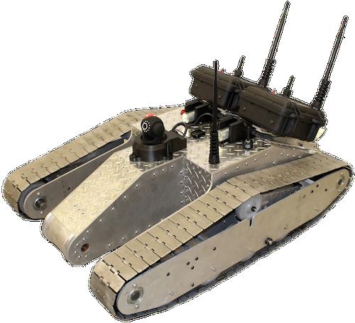 CommBot - роботанк управляемый по Wi-Fi