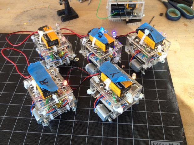 виброботы на Arduino