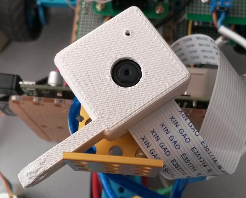 Корпус для Raspberry Pi Camera распечатанный на 3D-принтере