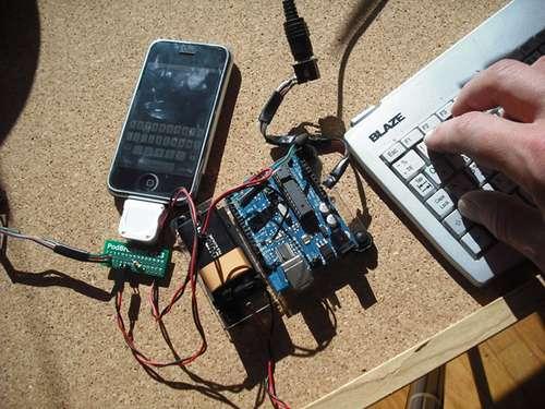 клавиатура PS/2 и iPhone