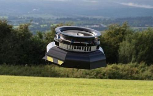 Робот-летающая тарелка