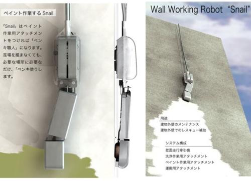 SnailBot – робот-чистильщик для зданий