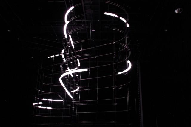 Particles - инсталляция на основе Arduino