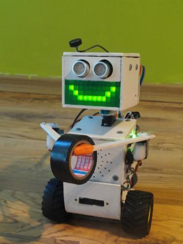LEDko - робот на базе Arduino